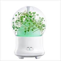 Увлажнитель воздуха SUNROZ Fresh Flower для дома и офиса 100 мл 12 В Зеленый (SUN1624)