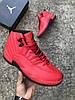 Мужские Кроссовки в стиле Nike Air Jordan 12 Retro Red, фото 7