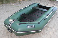 Надувная лодка Ладья ЛТ-330-МВ (моторная) со сланью-книжкой, фото 4
