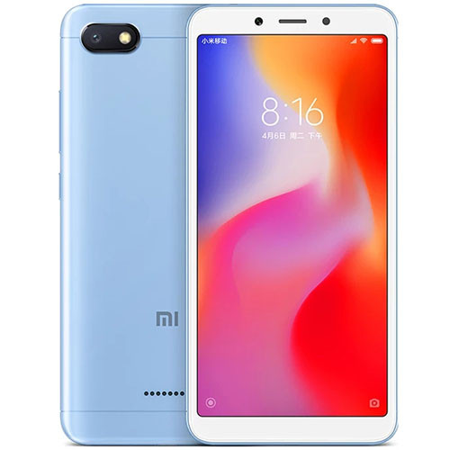 Смартфон Xiaomi Redmi 6A 16Gb Blue Global firmware (CN) 12 мес