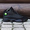 Мужские Кроссовки в стиле Nike Air Jordan 13 Retro Black, фото 4