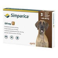 Simparica (Симпарика) 40-60кг (таблетки от блох и клещей)