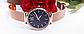 Женские наручные часы с золотистым ремешком код 409, фото 3