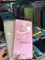 Чехол силиконовый прозрачный для Samsung Galaxy Note 4