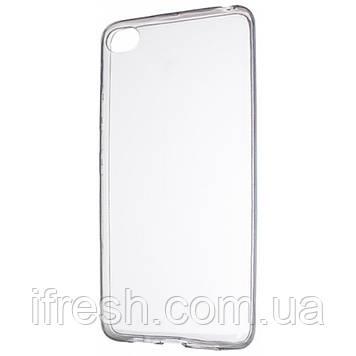 Чехол силиконовый для Lenovo S90, прозрачный