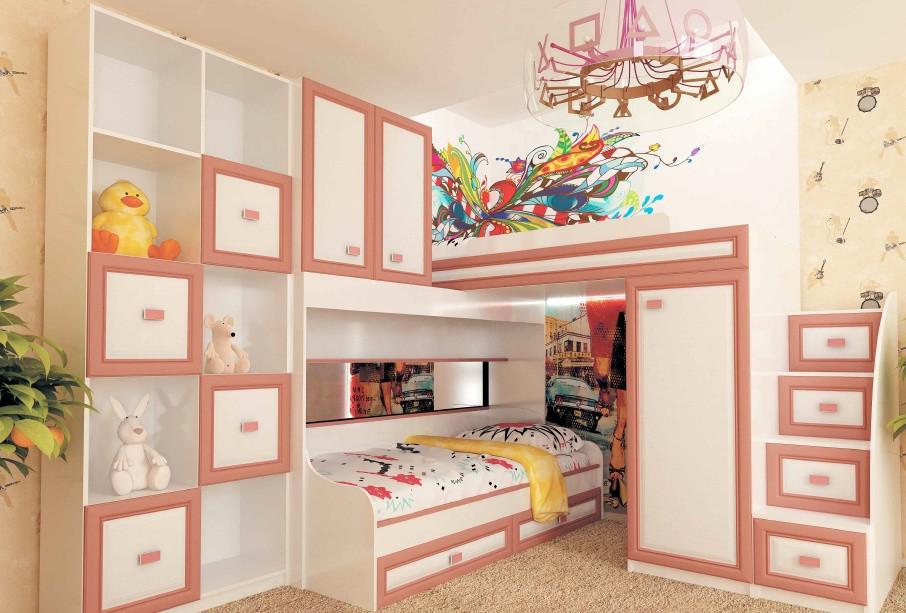Комплекты детской мебели.