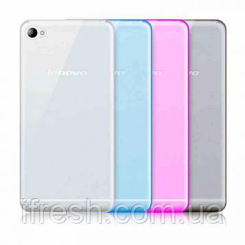 Чехол силиконовый для Lenovo S60, розовый