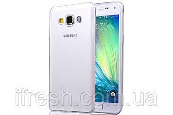 Чехол силиконовый прозрачный для Samsung Galaxy A7