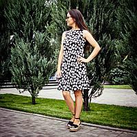 Летнее платье с ромашками для кормящих мам 42-48 р
