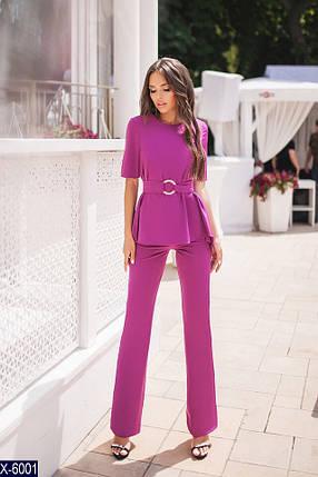 Костюм женский фиолетовый, фото 2