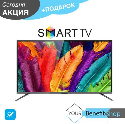 "Телевизор JPE 50"" E50EK1100 Smart 4K / Android / Wi-Fi / Умный телевизор /  T2 / HDMI / VGA"
