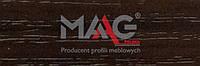 Кромка ПВХ Орех темный D8/2 MAAG 0.6х22 мм.