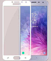 Защитное стекло на телефон Samsung Galaxy J400 (J4 2018) 3D white