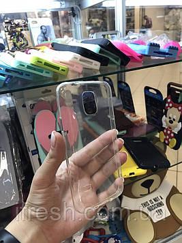 Чехол силиконовый прозрачный для Samsung Galaxy S5 mini