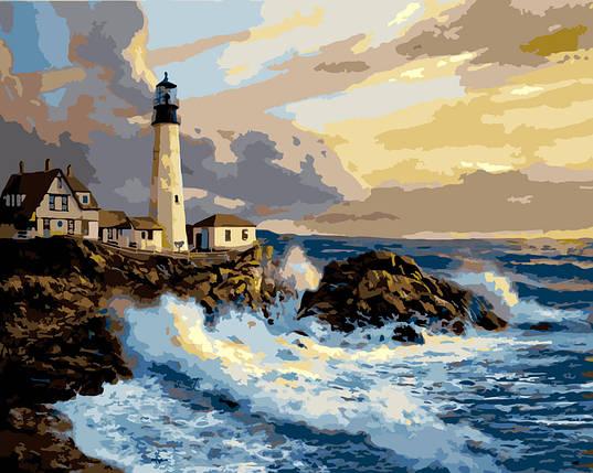 """Картина по номерам """"Белый маяк"""", фото 2"""