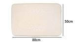 Плюшевый коврик «Галька» фиолетовый 50×80 см, фото 6