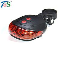Задний габаритный свет (мигалка) TOS T006 с лазерами