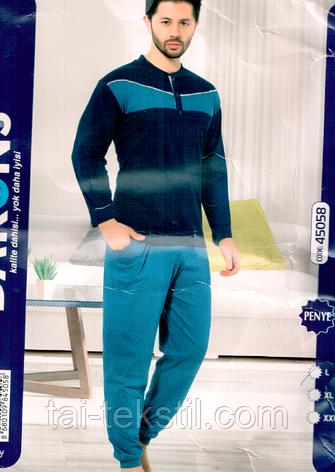 Dalmina пижама мужская с карманами хлопок 100% PENYE № 45058, фото 2