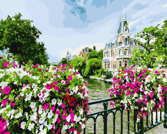 "Картина по номерам ""Весенний Амстердам"", фото 2"