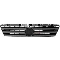 Решетка радиатора черн Mercedes А W168 97-01  1688880060