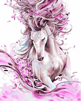 """Картина по номерам """"Изящная лошадь"""", фото 2"""