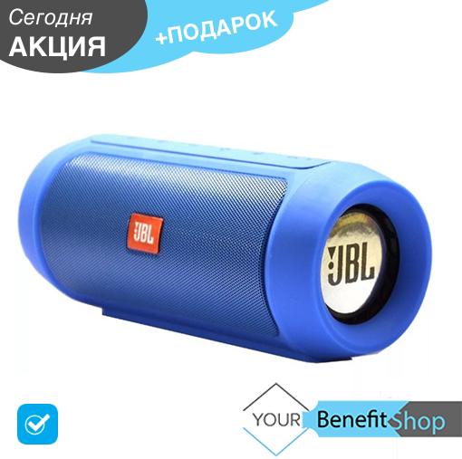 Портативная беспроводная bluetooth колонка JBL Charge 2+ c PowerBank   водонепроницаемая блютуз колонка