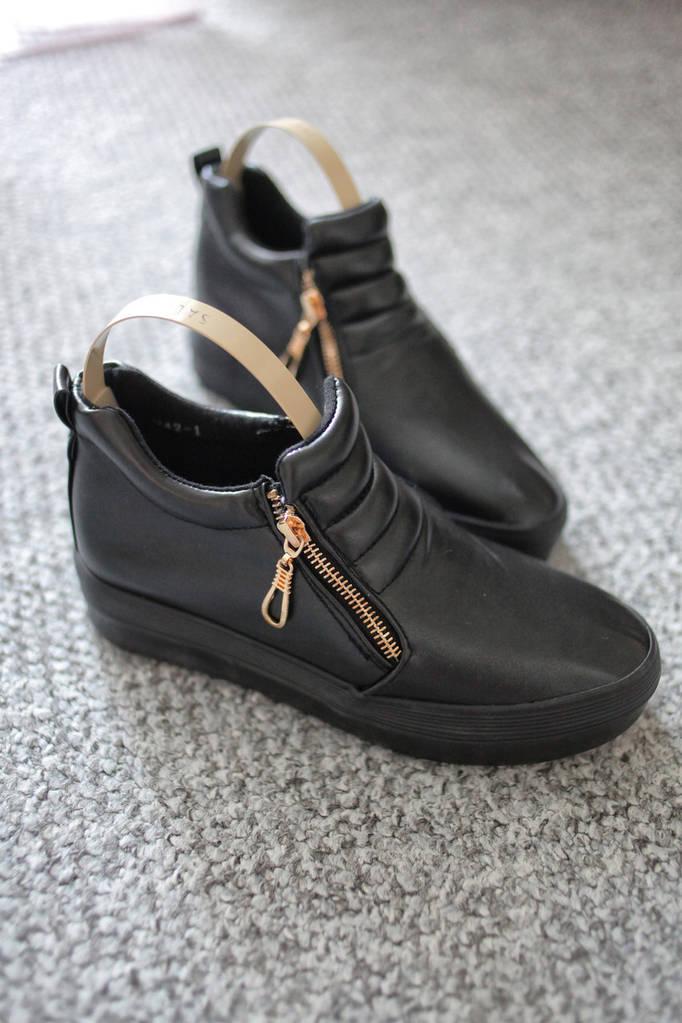 Женские кроссовки сникерсы Coco Paris Black  36 - 39