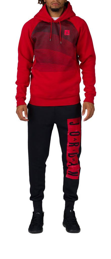 Оригинал! Спортивный костюм Jordan красно-черный  продажа, цена в ... f2715ad8974