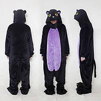 Пижама кигуруми черно-фиолетовая полуночная кошка 18adfda102cf4