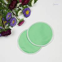ЭКО-прокладки для груди, зеленые СЛИНГОПАРК®