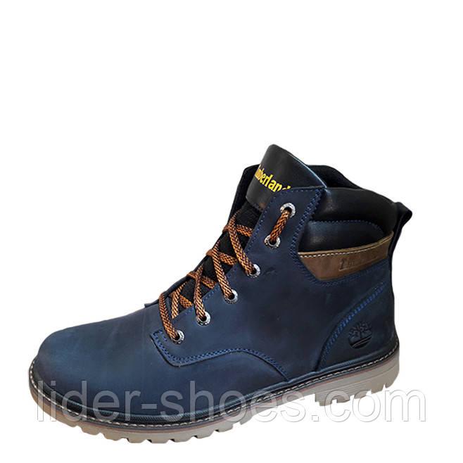 Мужские кожаные ботинки в стиле Timberland
