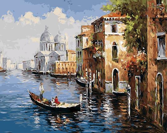 """Картина по номерам """"Венецианская прогулка"""", фото 2"""