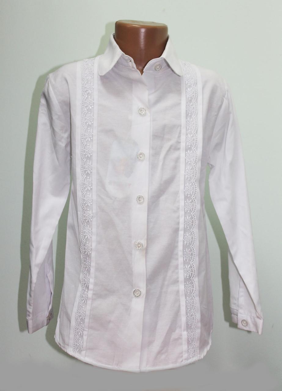 Блуза школьная на девочку