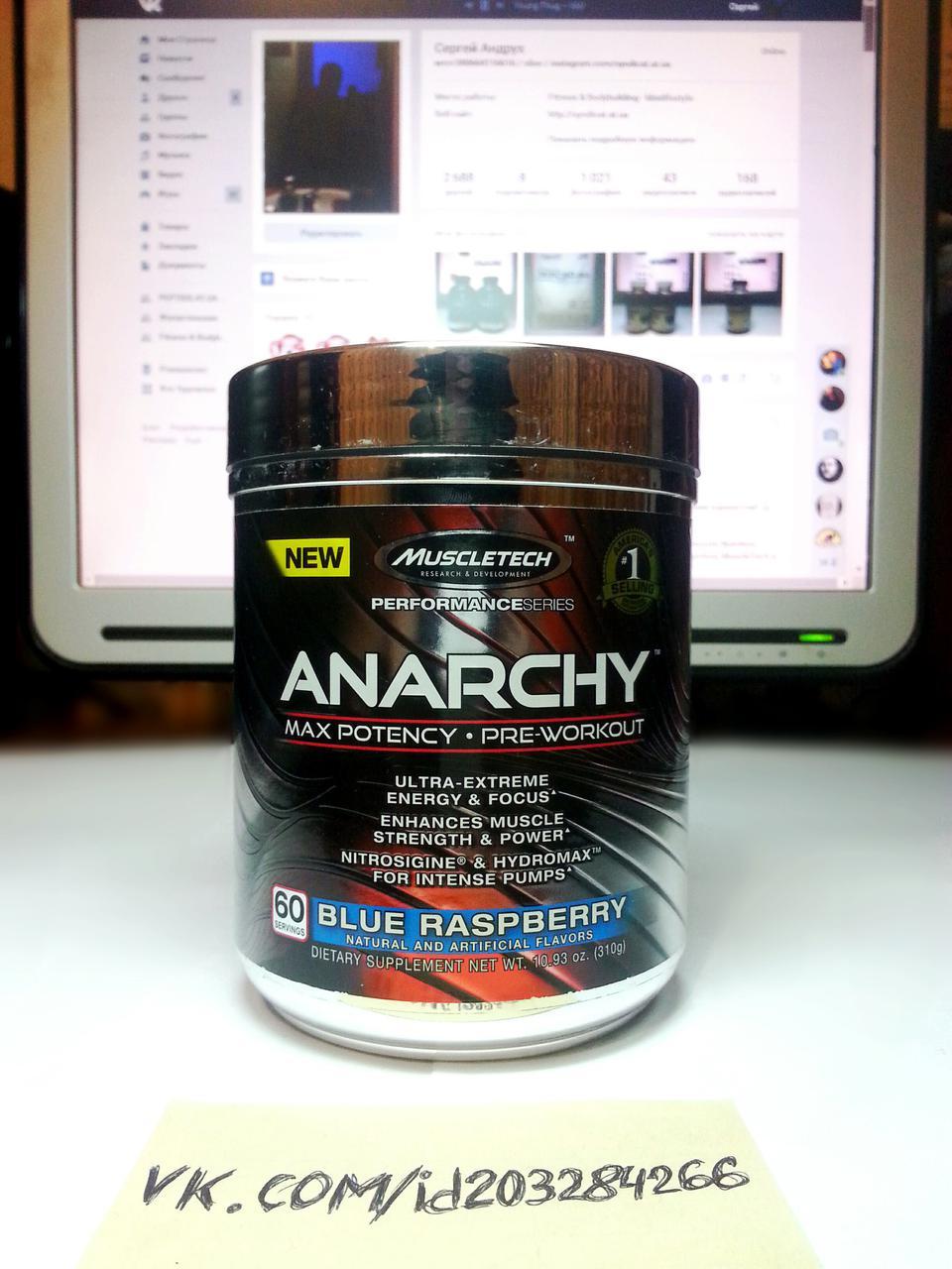 MuscleTech Anarchy 60 порций