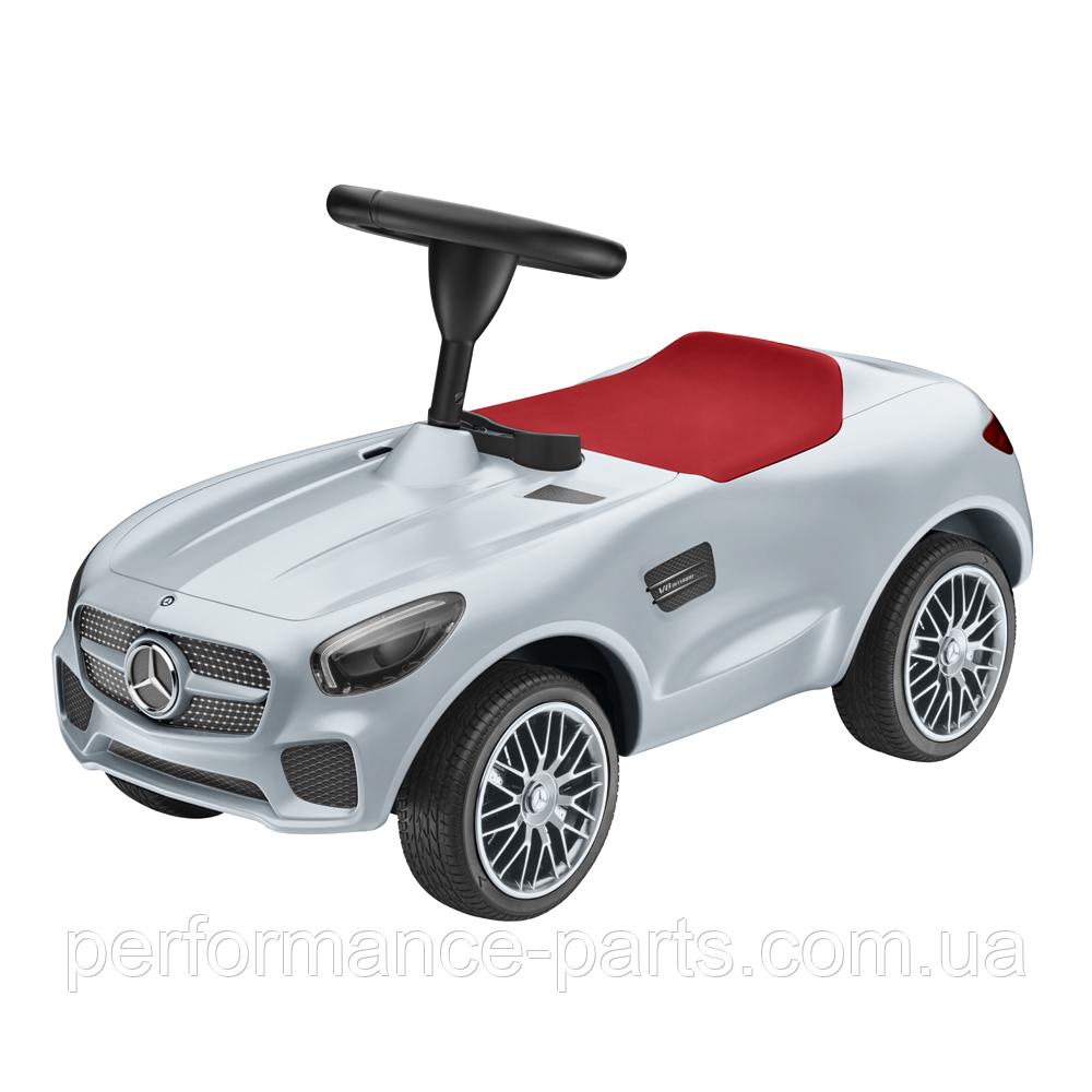 Детский автомобиль толкар Mercedes-AMG GT Ride-on car, Silver, артикул B66961999