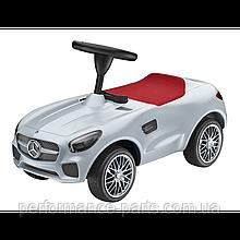 Дитячий автомобіль толкар Mercedes-AMG GT Ride-on car, Silver, артикул B66961999