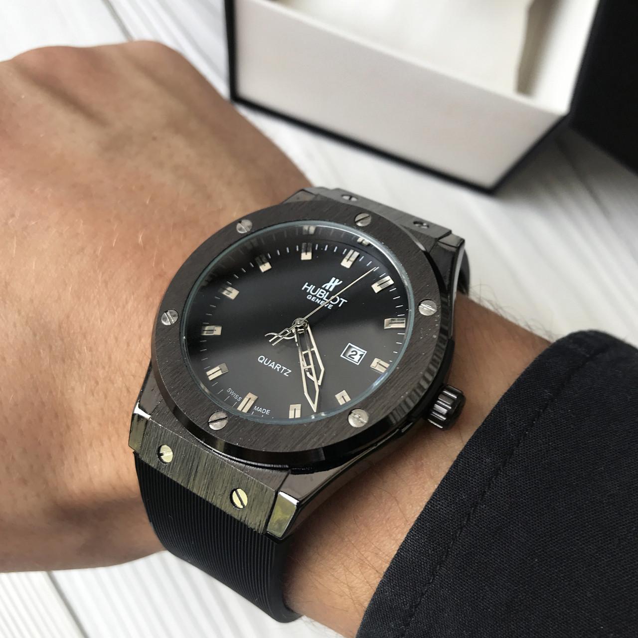 6a9b6f81 Наручные Часы Hublot Geneve Black — в Категории