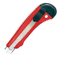 Нож прорезной усиленный с отломным лезвием - 18мм Intertool HT-0501