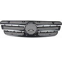 Решетка радиатора черн Mercedes ML-Class W163 98-05  1638800185