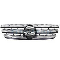 Решетка радиатора черн+сер Mercedes ML-Class W163 98-05  1638801185