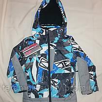 Зимняя термо куртка для мальчика размер 98 по 128