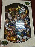 Конфеты ассорти сухофрукты в шоколаде