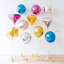 Фольгированные шары для оформления: звезды, алмазы, сердца, сферы, круглые