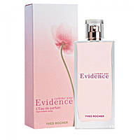 Женская парфюмированная вода Yves Rocher Evidence LEau de parfum EDP 50 ml (лиц.)