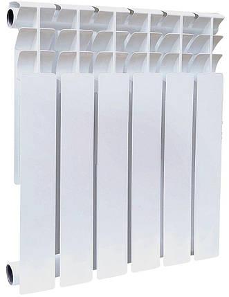 Секция биметаллического радиатора GALLARDO Bi POWER 500/96 мм (175 Вт), фото 2