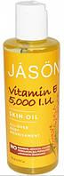 Масло для тела питательное с витамином Е, Jason, 120 мл