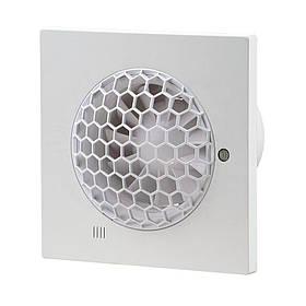 Вентилятор Вентс 100 Квайт CТ cомменными лицевыми решетками и таймером
