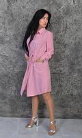 Платье- рубашка. Размеры 42-44,46-48,50-52., фото 1