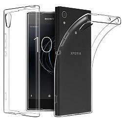 Прозрачный Чехол Sony Xperia XA1 (G3112) (ультратонкий силиконовый) (Сони Иксперия ХА1)
