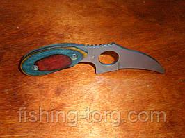Нож  ss24 шкуросьемник в чехле не ХО